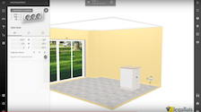 image de presentation d'une video tutoriel du configurateur cuisine 3D Legallais