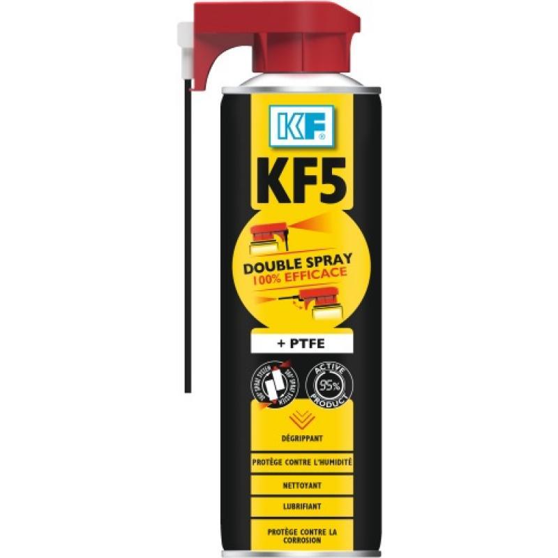 lubrifiant d grippant kf 5 ultra double spray legallais. Black Bedroom Furniture Sets. Home Design Ideas